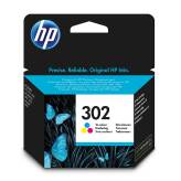 HP 302 F6U65AE tusz kolor do HP Deskjet 1110 2130 3630 3639 OfficeJet 3830 4650 Envy 4520 - 3ml