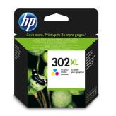 HP 302XL F6U67AE tusz 3-kolorowy do HP Deskjet 1110 2130 3630 3639 OfficeJet 3830 4650 Envy 4520 - 8ml