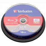 Verbatim BD-RE SL 25GB 2x Spindle 10 szt. - 43694