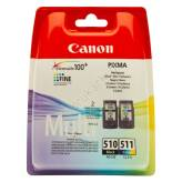 Canon CL-511 PG-510  multipack tusze oryginalne 2970B010