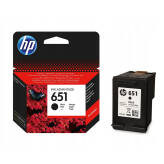 HP 651 C2P10AE tusz czarny do HP Deskjet Ink Advantage 5575 5645 OfficeJet 202 252
