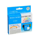 Brother LC1100C zamiennik tusz cyan do Brother DCP385C DCP6690CW MFC6490CW MFC490CW - 12ml