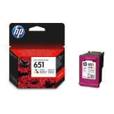 HP 651 C2P11AE tusz kolor do HP Deskjet Ink Advantage 5575 5645 OfficeJet 202 252