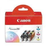 Canon CLI-8CMY multipack CMY tusze oryginalne 0621B029
