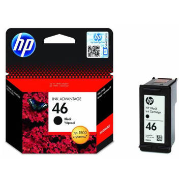 HP 46 CZ637AE tusz czarny do HP DeskJet Ink Advantage Ultra 4729