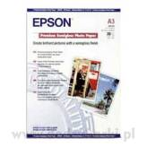 Epson C13S041334 Premium Semigloss Photo Paper A3 20 ark.