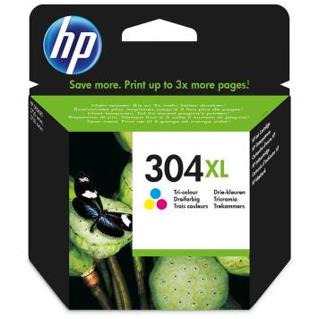 HP 304XL N9K07AE tusz 3-kolorowy do HP Deskjet 2620 2630 3720 3730 - 7ml