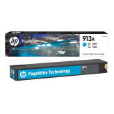 HP 913 F6T77AE tusz cyan do HP PageWide Pro 352 377 452 477