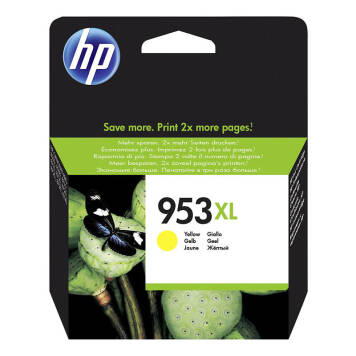 HP 953XL F6U18AE tusz żółty do HP OfficeJet Pro 7720 7730 7740 8210 8218 8710 8715 8720 8725 8730 - 20ml