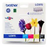 Brother LC970VALBP Value Pack CMYK oryginalne