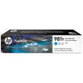 HP 981Y L0R13A tusz cyan XXL do HP PageWide Enterprise 556 586 Flow - 185ml