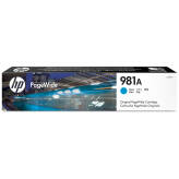 HP 981A J3M68A tusz cyan do HP PageWide Enterprise 556 586 Flow - 70ml