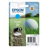 T3462 tusz cyan 34 do Epson WF3720 WF3725DWF - 4.2ml