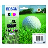 T3476 Multipack 4 tusze 34 CMYK do Epson WF3720 WF3725DWF - 48.7ml