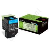 Toner cyan do Lexmark CX410 CX510 - 802HC [3k]