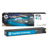 HP 973X F6T81AE tusz cyan XL do HP PageWide Pro 452 477