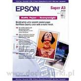 Epson C13S041264 Matte Paper Heavyweigth A3i 50 ark.