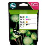 HP 963XL 3YP35AE Multipack 4 oryginalne tusze CMYK