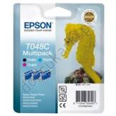 Epson T048C40 Multipack 3 tusze T0481 T0482 T0483