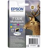 Epson T1306 Multipack 3 tusze CMY XL C13T130640 oryginalne