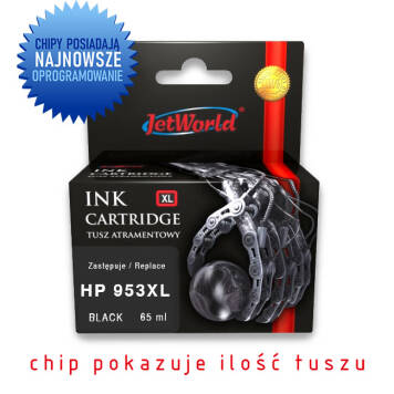 HP 953XL zamiennik L0S70AE tusz czarny do HP OfficeJet Pro 7720 7730 7740 8210 8218 8710 8715 8720 8725 8730 - 65ml
