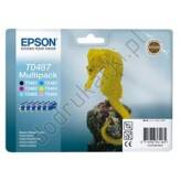 Epson T0487 Multipack 6 tuszy C13T048740 oryginalny