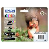 Epson 378XL 478XL multipack 6 tuszy do Epson XP-15000 - 60.5ml