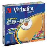 Verbatim CD-RW Hi-Speed 12x 700MB 5 szt. Slim Case
